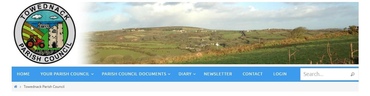 How to create a parish council website